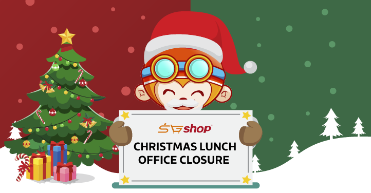 Christmas Lunch Office Closure Announcement Website Notice ...